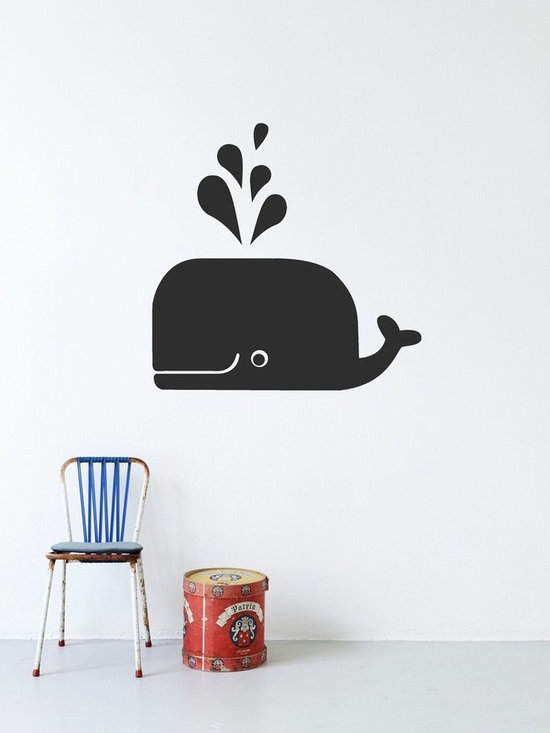 Ferm Living Whale Wallsticker - Ferm Living Whale Wallsticker