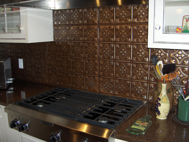 antique look backsplash traditional kitchen other metro by