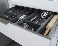 Stainless Steel Drawers and Roll-Out Shelves from Dura Supreme contemporary-kitchen
