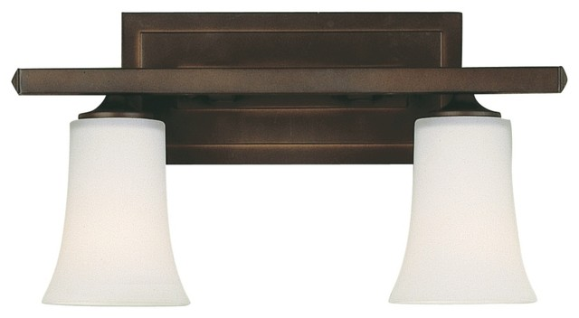 Feiss boulevard collection 16 wide bathroom light fixture for Arts and crafts bathroom lighting