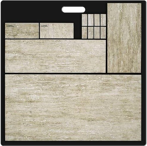 Travertine Effect - Porcelain contemporary-wall-and-floor-tile