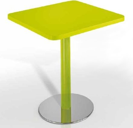Green Srl Paul Q Square Table, Werzalit Top modern-dining-tables