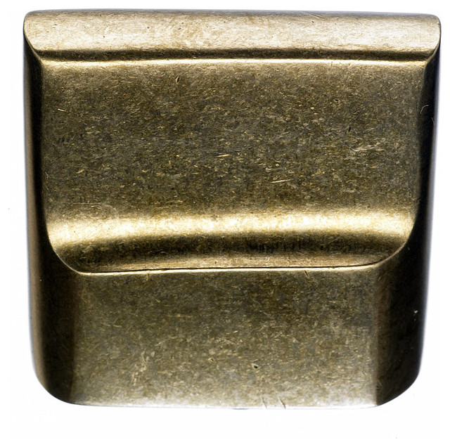 Light Bronze Finger Pulls, 7/8 in. - Traditional - Cabinet And Drawer Handle Pulls - by Simply ...