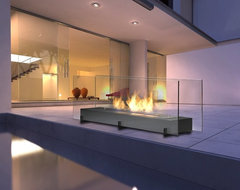 Eco-Feu Vision II Biofuel Fireplace contemporary-indoor-fireplaces