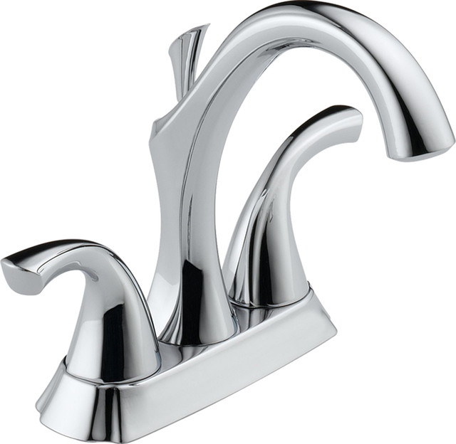 Delta 2592-MPU-DST Addison Series Two-Handle Deck-Mounted Lavatory Faucet modern-bathroom-faucets-and-showerheads