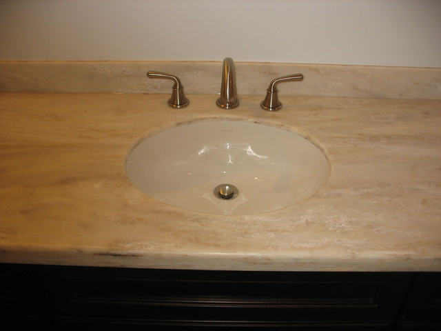 Corian Vanity Countertops : Corian witch hazel contemporary vanity tops and side