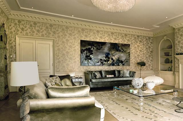 Architecta Interiors transitional-living-room