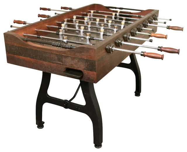 Foosball Game Table In Reclaimed Hardwood By Nuevo