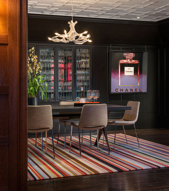 Pacific Heights contemporary-dining-room