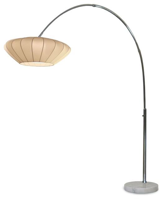 nova lighting cloud contemporary arc floor lamp x 2710112. Black Bedroom Furniture Sets. Home Design Ideas