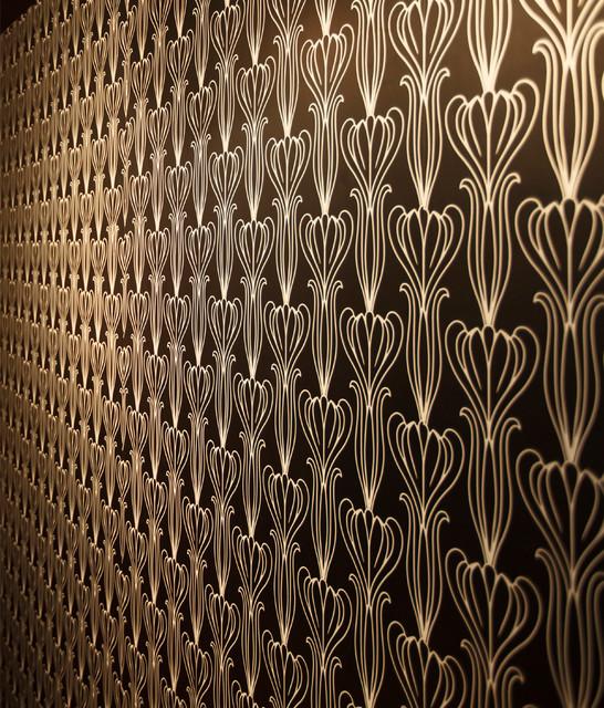 Bela self adhesive removable wallpaper midnight for Room decor 3d self adhesive wallpaper