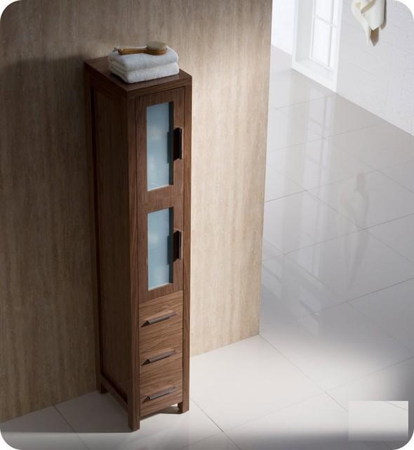 Fresca Torino Tall Bathroom Linen Side Cabinet Modern