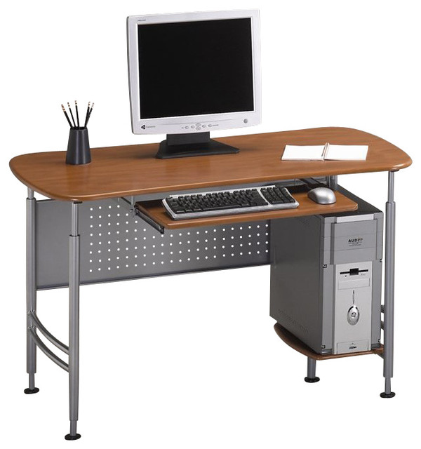 Mayline Eastwinds Santos Small Metal Computer Desk With