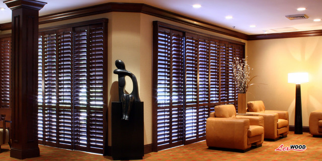 Sunland Shutters traditional-window-treatments