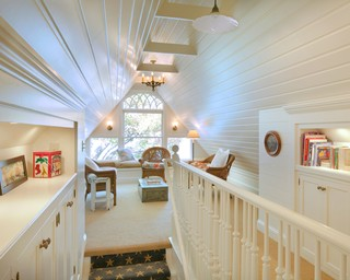 attic built-ins can also provided needed storage