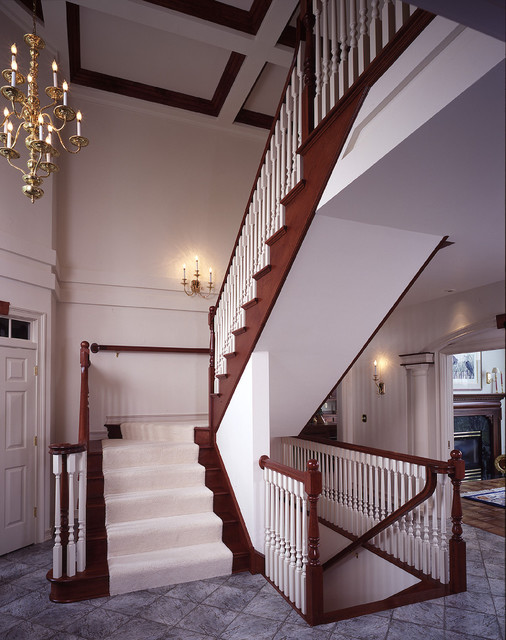 Straight Staircase contemporary-staircase