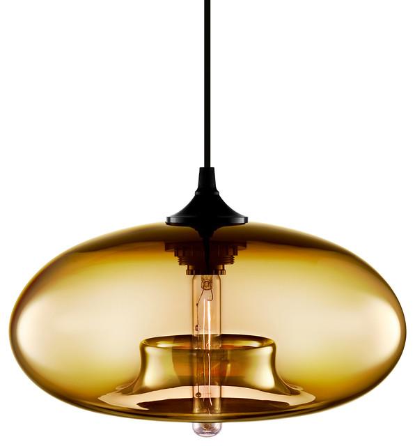 Niche Modern Aurora Pendant Amber Modern Pendant Lighting Vancouver B