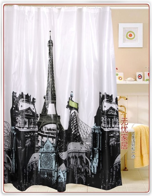 Oriental Curtains And Drapes Eiffel Tower Shirt