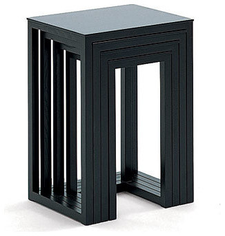 Wittmann Satztische Nesting Tables modern-side-tables-and-end-tables
