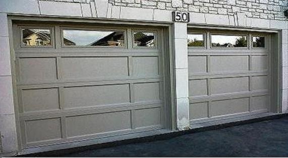 Recessed Panel From C.H.I. - Traditional - Garage Doors And Openers ...