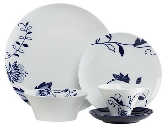 Camille 20-Piece Dinnerware Set contemporary-dinnerware