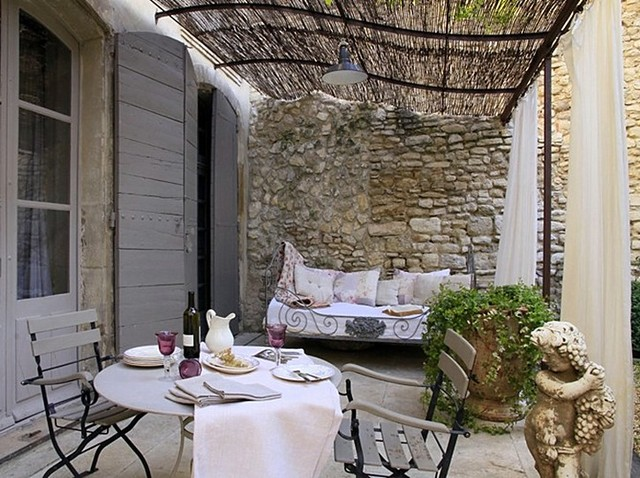 Http Www Houzz Com Photos 957139 Patio Porch French European Decorating Ideas Home Decor Stone House Provencaljp