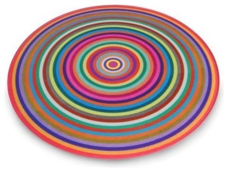 Antony Joseph Coloured Rings Cutting Board modern-cutting-boards