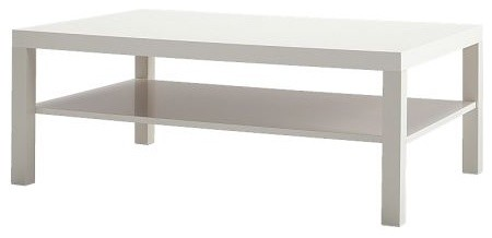 Lack Coffee Table, White modern-coffee-tables