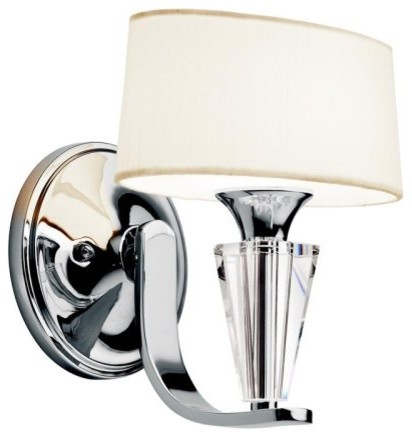 Kichler Lighting Kichler 42028CH Crystal Persuasion Wall Sconce