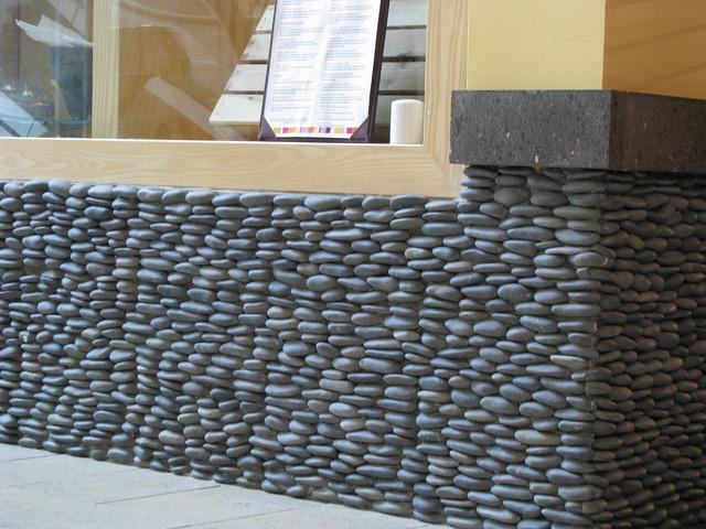 Zen Paradise Standing Pebble Tile Installations santa  : home design from www.houzz.com size 640 x 480 jpeg 105kB