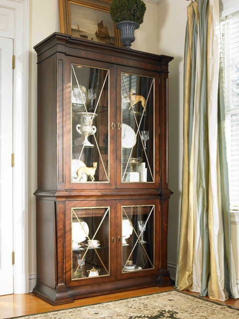 Klise Wire Mesh Grillework Created For A Curio Cabinet By