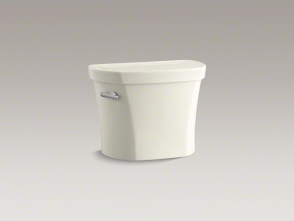 """KOHLER Wellworth(R) 1.28 gpf tank, 14"""" rough-in with Insuliner(R) tank liner and contemporary-toilets"""
