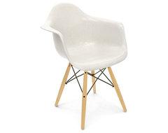 Modernica Dowel Arm Shell Chair contemporary-furniture