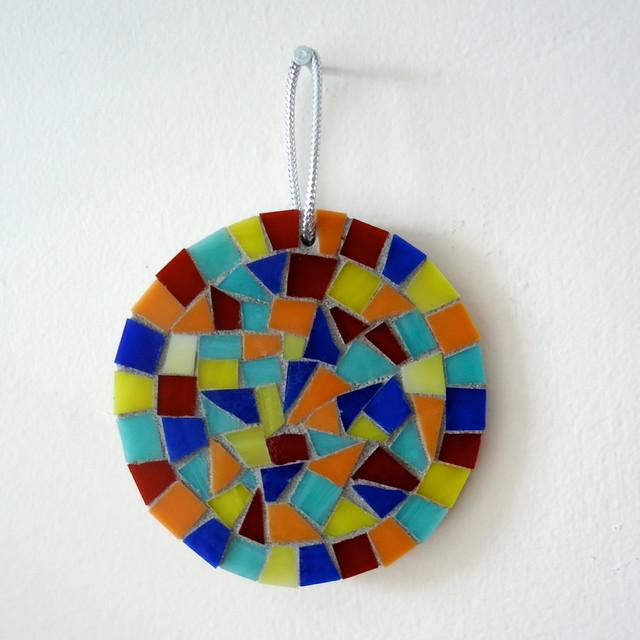 Holiday Mosaic Ornaments