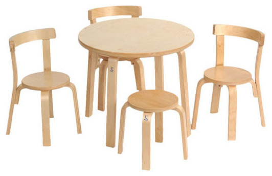 Svan Play With Me Toddler Table And Chairs Contemporary Kids Tables And C