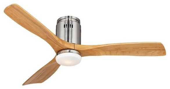 52 Possini Euro Admiralty Brushed Nickel Ceiling Fan Beach Style Ceiling Fans By Euro