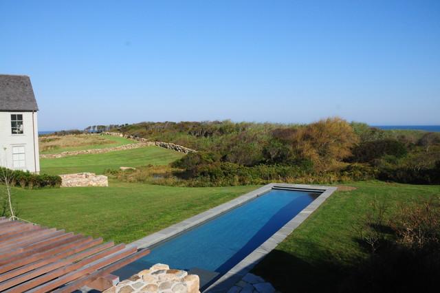 Block Island Residence farmhouse-pool
