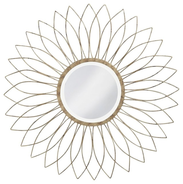 Charlese Wall Mirror - 40W x 40H in. contemporary-mirrors