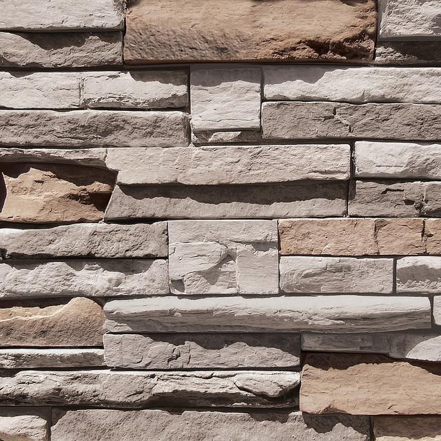 Coronado Quick Stack Stone Siding - Color: Cape Cod Grey - Stone ...