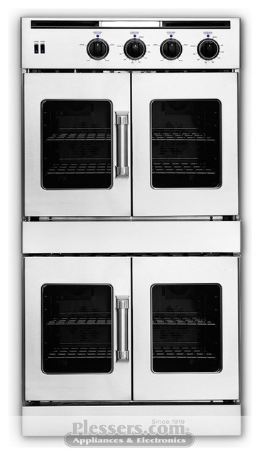 """American Range AROFFG230 Legacy Series 30"""" Double French Door Gas Wall Oven ovens"""