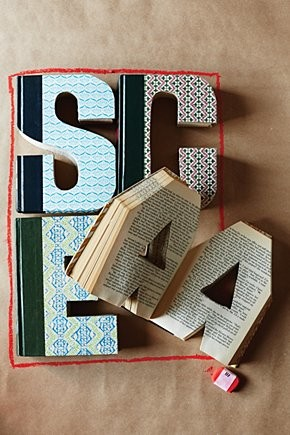 Library Letter contemporary-desk-accessories