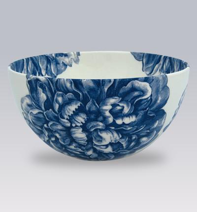 Blue Peony Dishware contemporary-serveware