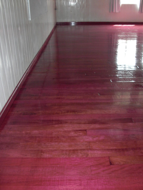 Purple Heart Solid Wood Floor - Modern - other metro - by Simply ...