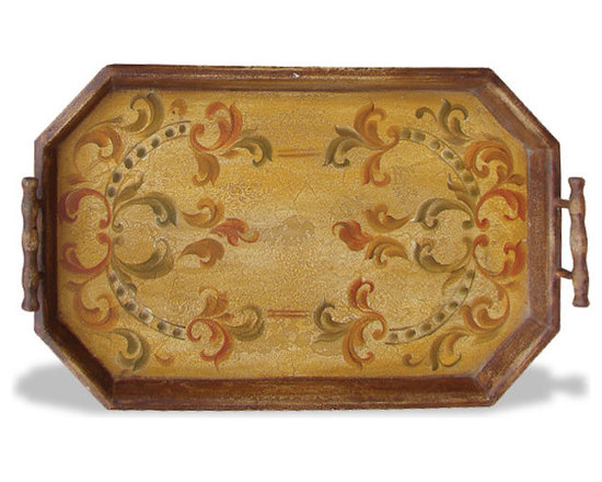 Accessory Trays - This accessory tray features a detailed soft scroll design and is available in a variety of finishes. See more at a local Houston showroom!