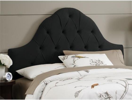 Custom Georgiana Upholstered Headboard Traditional Headboards By Home Decorators Collection