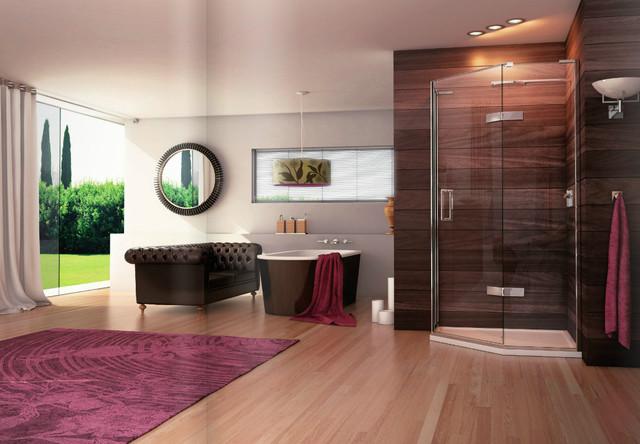 Matki Eauzone Shower Enclosure Range contemporary-rendering