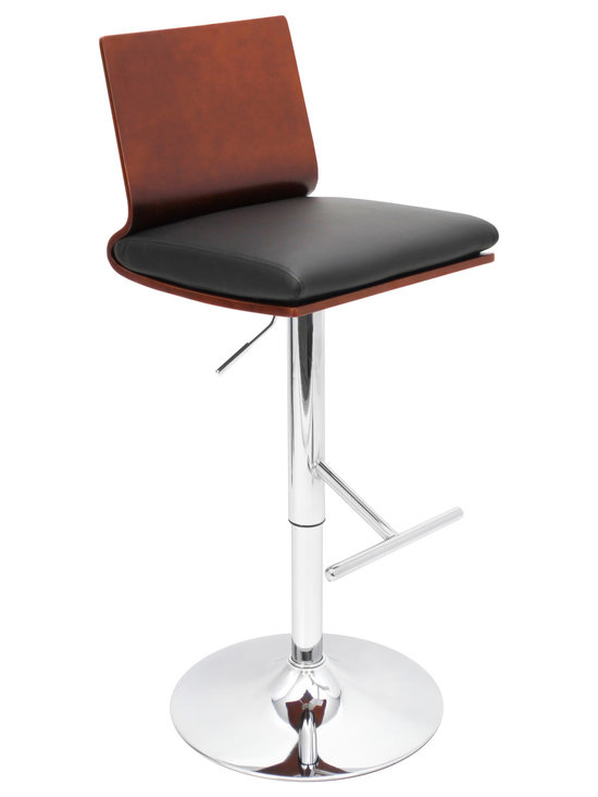 Koko Bar Stool - CHERRY/BLACK