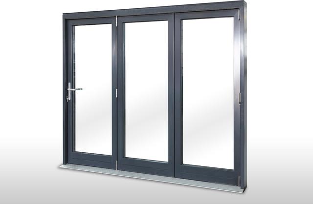 Breeze Panel Folding Glass Wall Modern Interior Doors