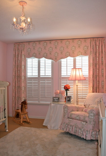 Girl S Baby Room Traditional Tampa By Finishing Touches