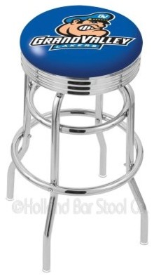Holland Collegiate 25 in. Ribbed Swivel Bar Stool modern-bar-stools-and-counter-stools